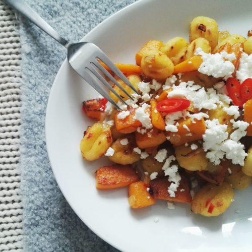 Gnocchi mit Kürbis und Chili-Honig-Butter