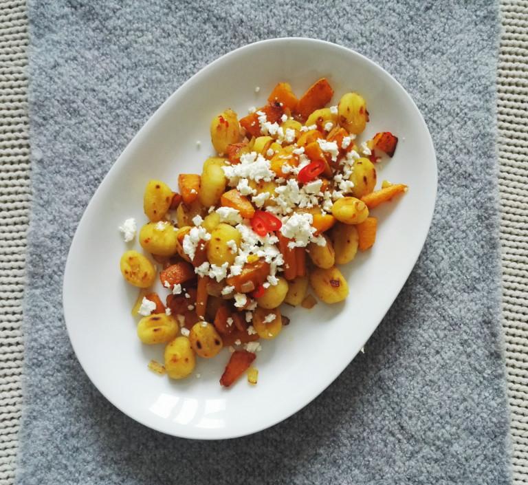 Gnocchi mit Kübis und Chili-Honig-Butter