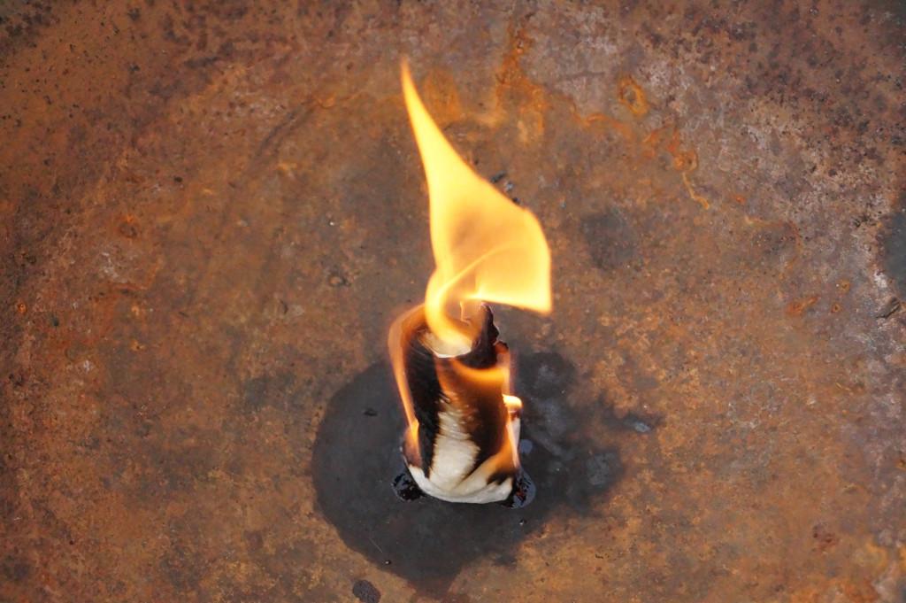 Küchenpapier Öl Grillanzünder Camping