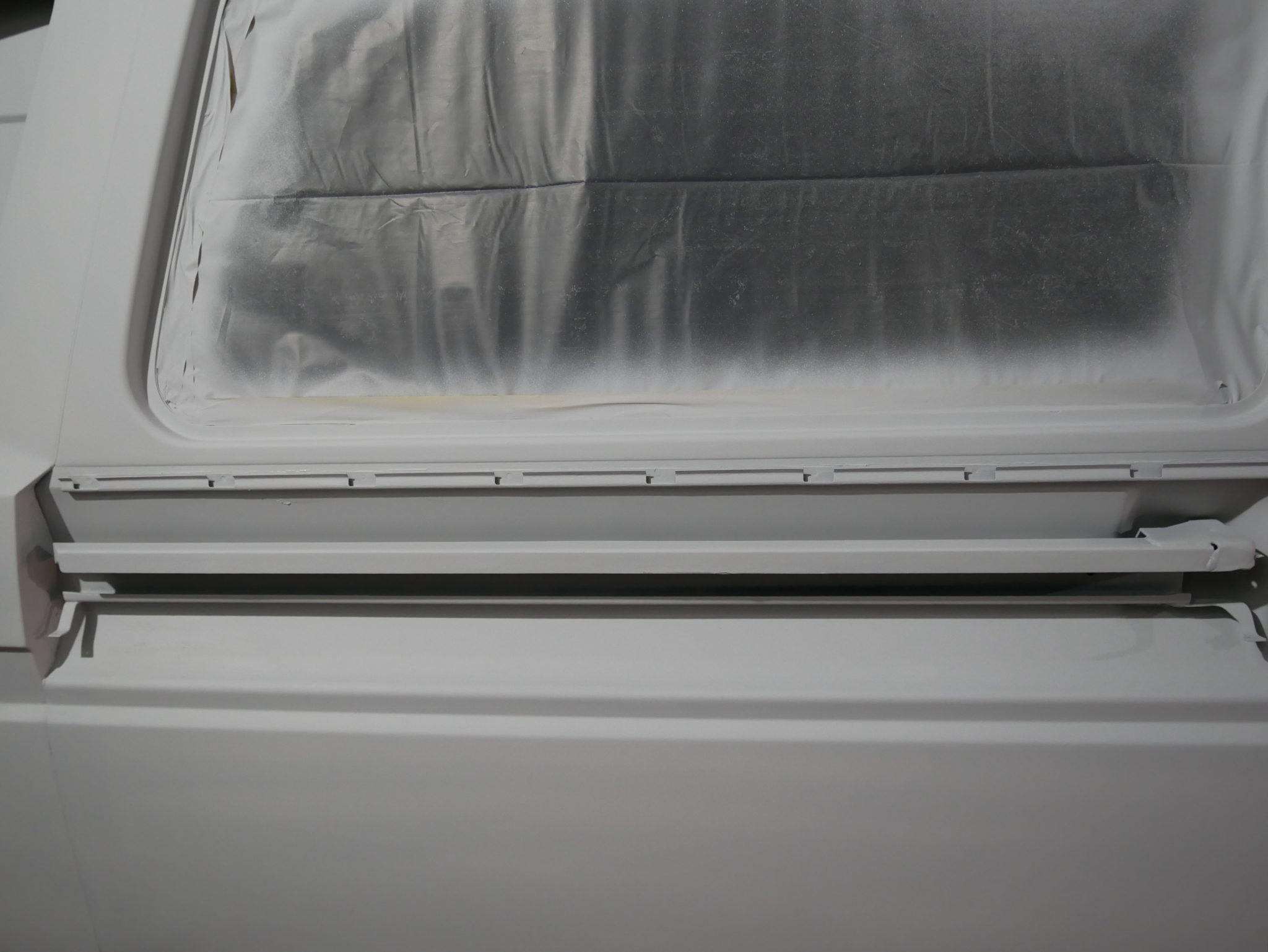 Grundierte Führungsschine VW T3