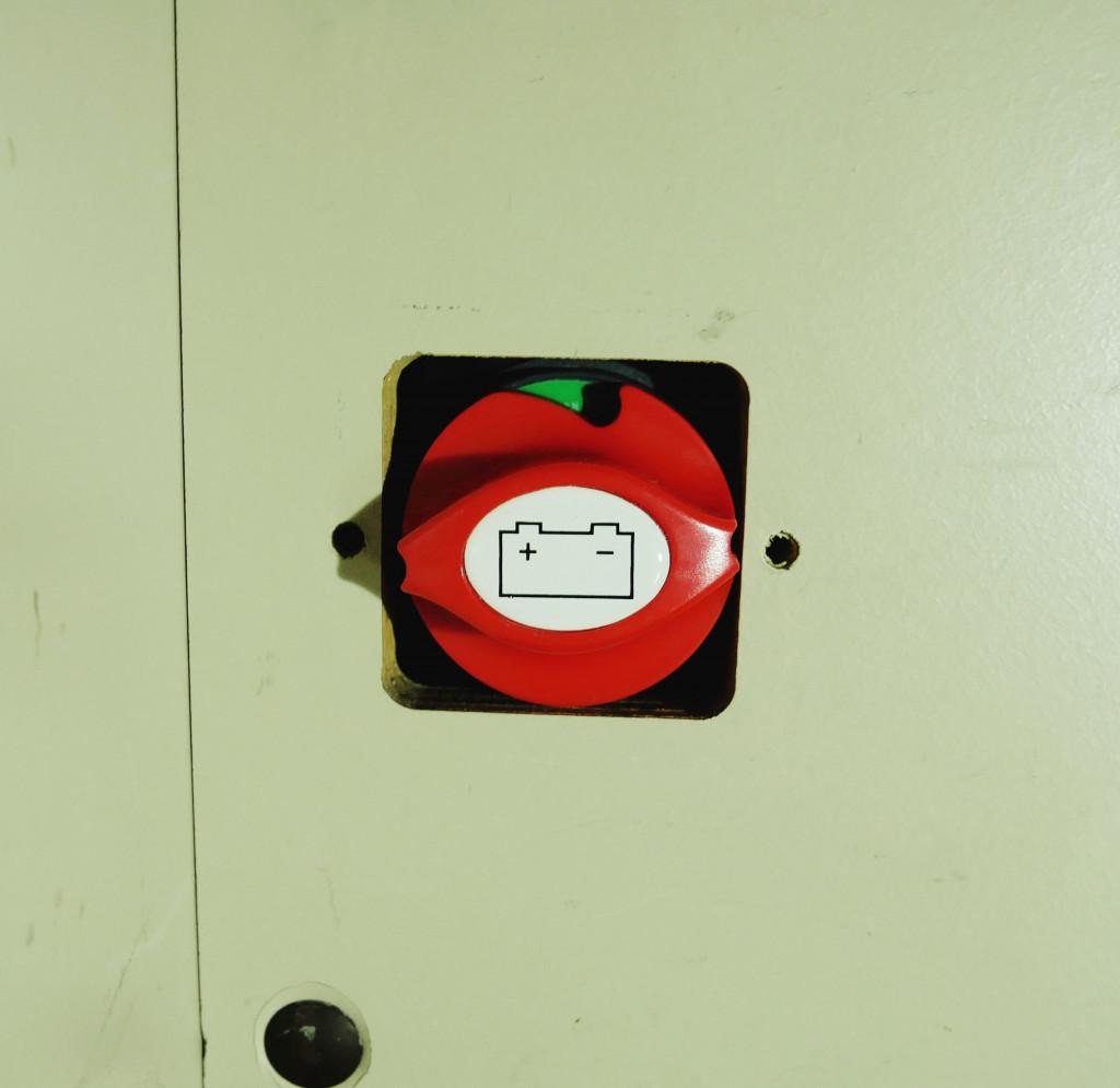 Not Aussschalter Batterie Bulli