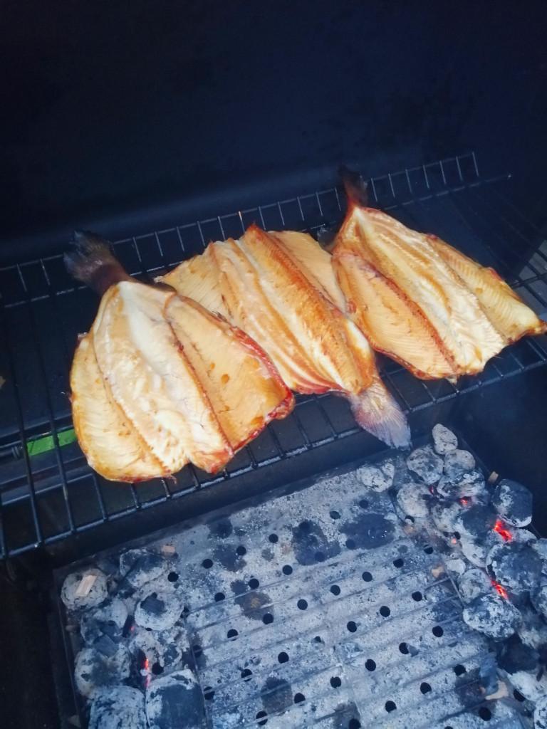 Fisch Räuchern Grill