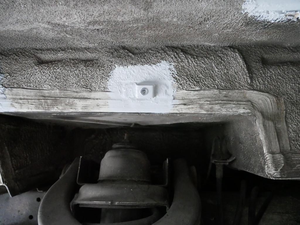 Innenkotflügel montieren VW T3
