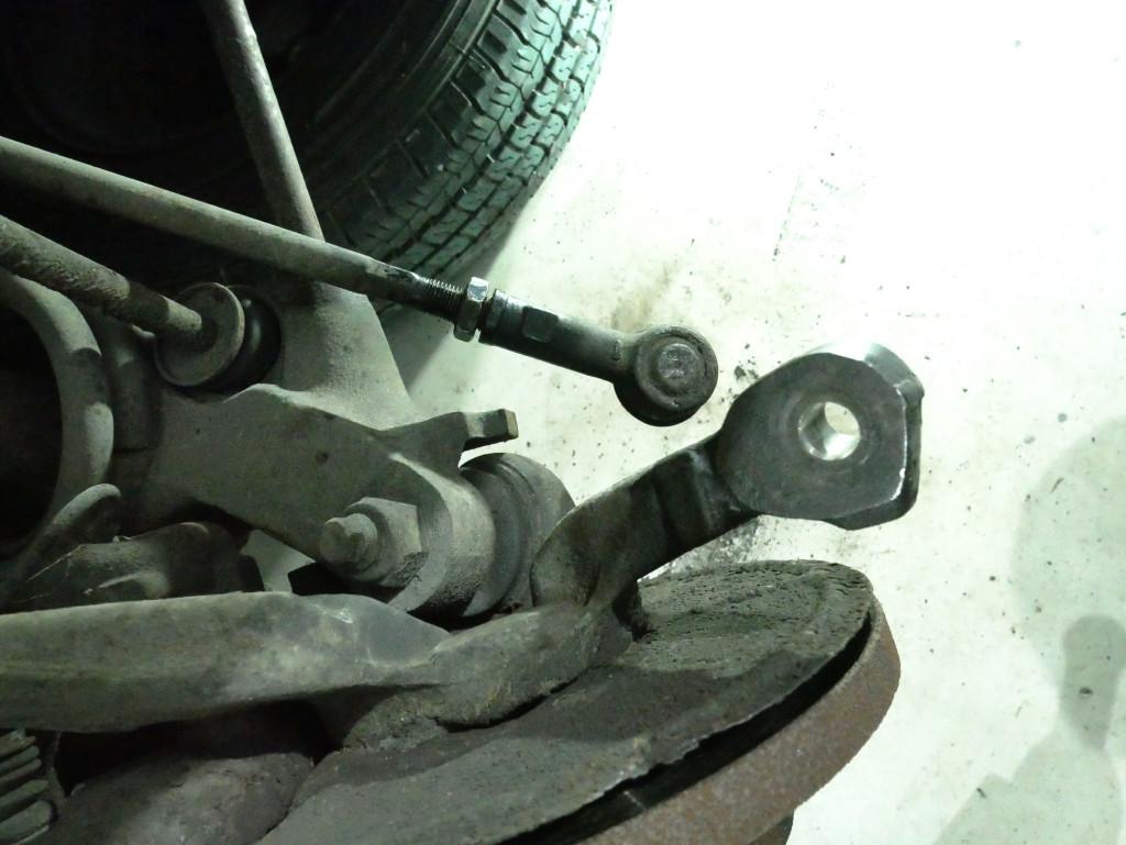 Gelöster Spurstangenkopf VW T3
