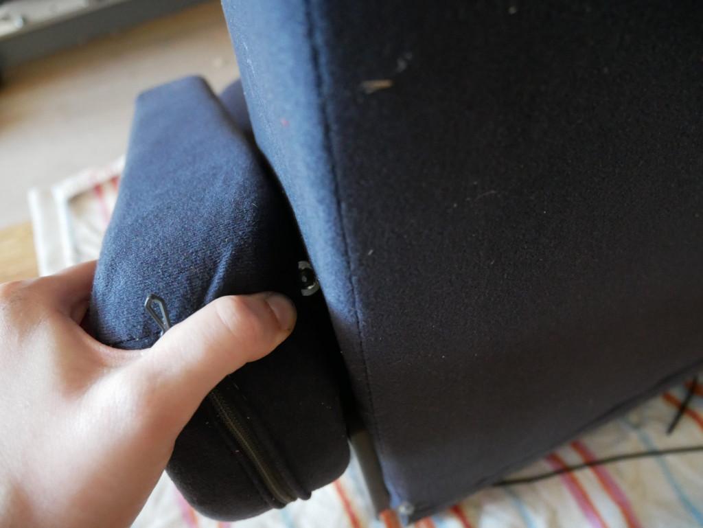 Armlehne entfernen Bulli Sitz