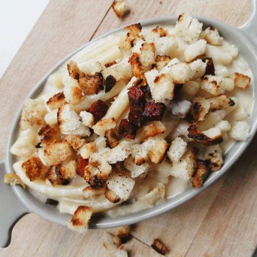 Mac & Manchego mit Chorizo