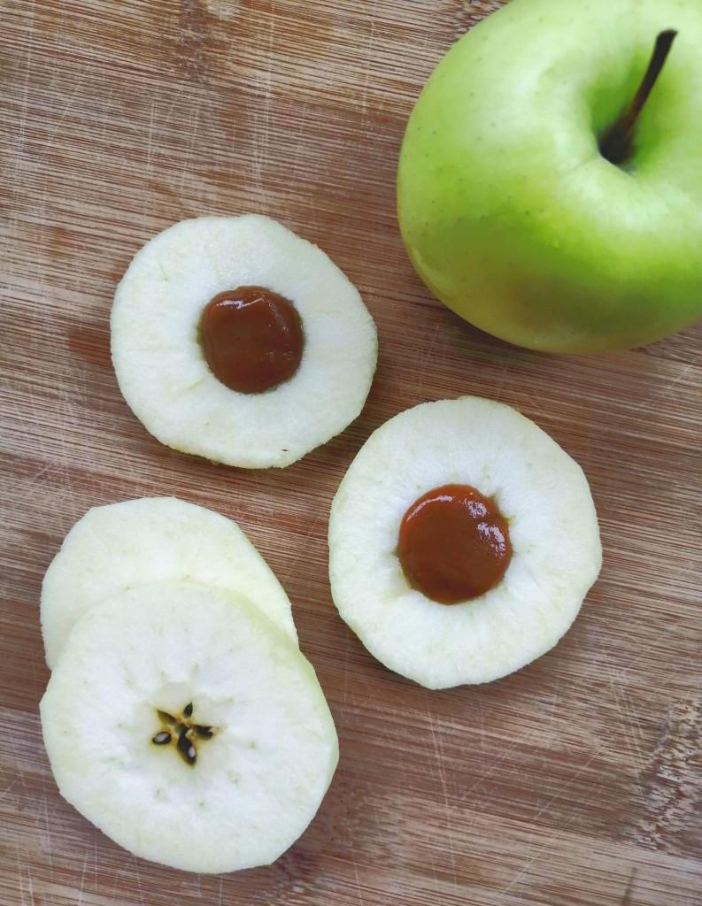 Karamell Apfel Ringe