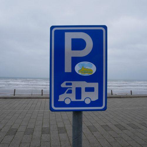 Stellplatz direkt am Meer in Zandvoort