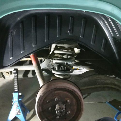 VW T3 – Radhausschalen nachrüsten