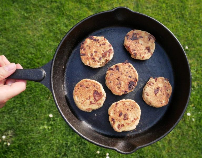 Cookies in der Pfanne