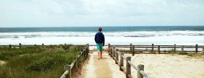 Weg Düne Strand Sommer Meer