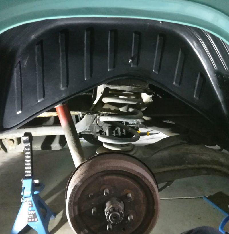 Radhausschalen Hinterachse VW T3